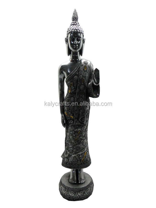 beautiful standing buddha statues,figurine <strong>resin</strong>