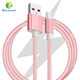 High Quality 5V 2A Charger Cable with Package 1M Metal Nylon Braided USB Cable for samsung