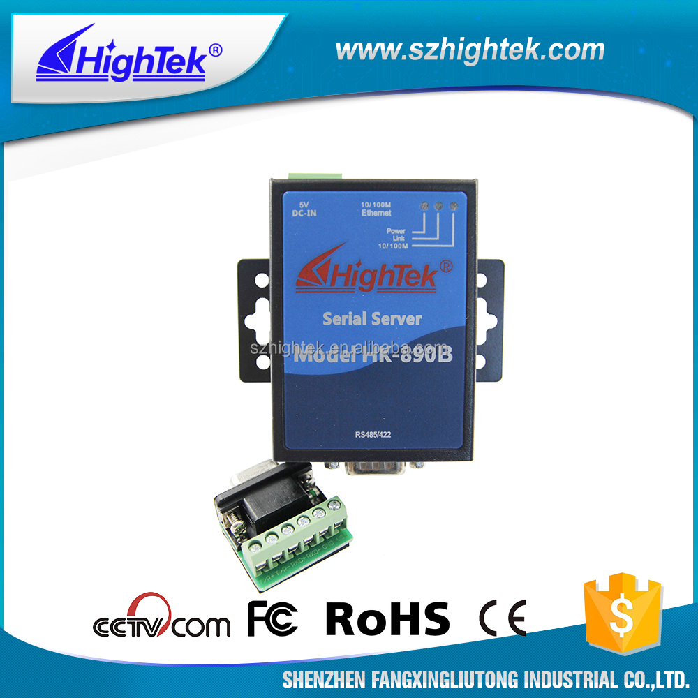 Embedded 15KV ESD surge HK-890B RS485 Device Server TCP/IP Converter