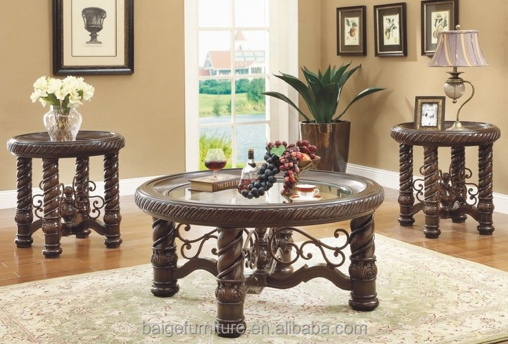 Lovely Indian Style Coffee Table Movable Glass Coffee Table Fancy Coffee Table