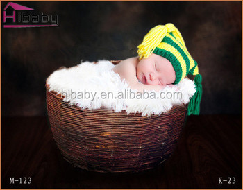 baby sleeping basket the newborn photography props the cane makes up
