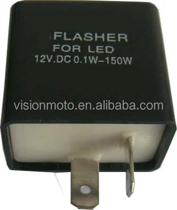De alta Calidad de la motocicleta flasher para indicador LED Flash led Relé