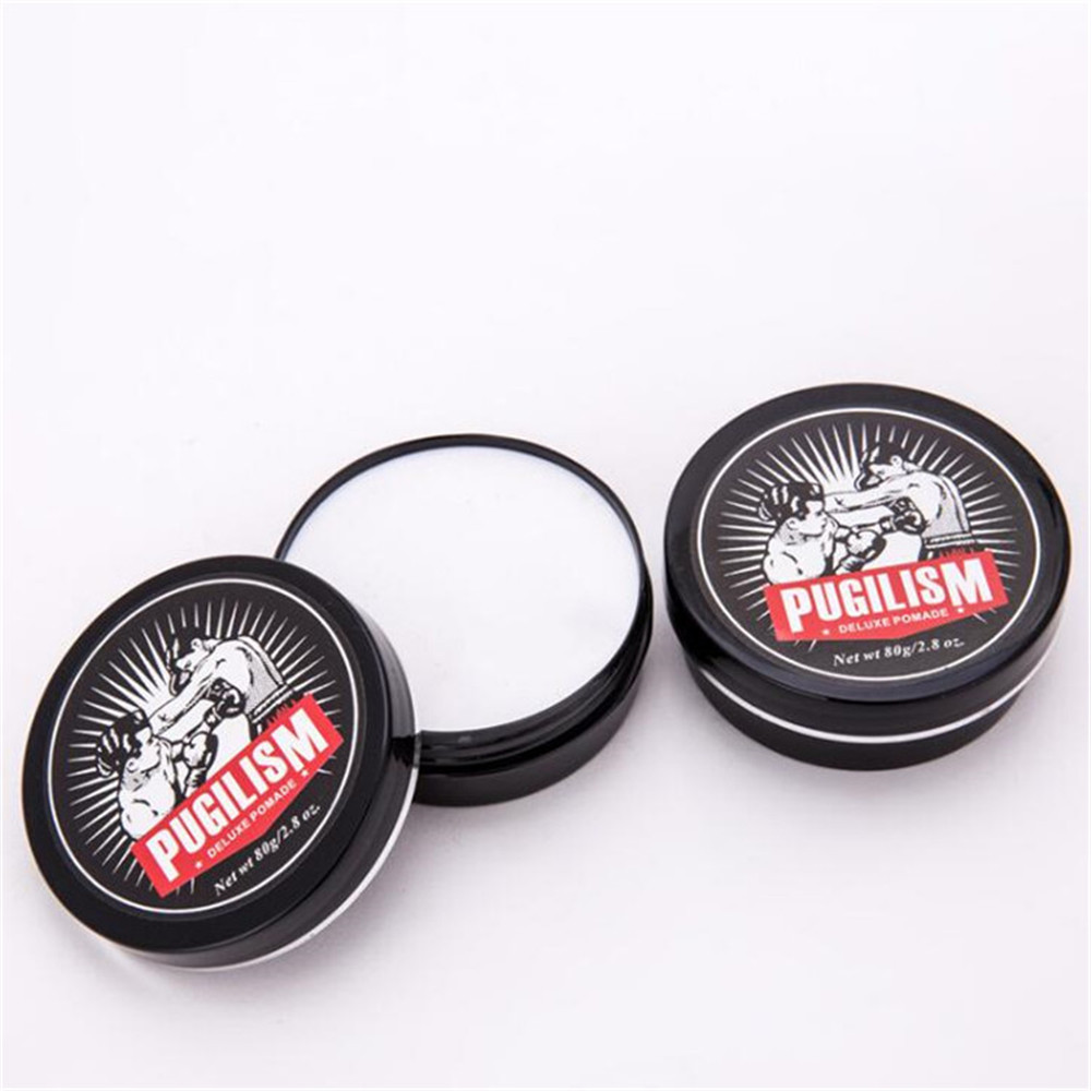 Pugilism professional hair styling produkte free style haar wachs 80g deluxe pomade