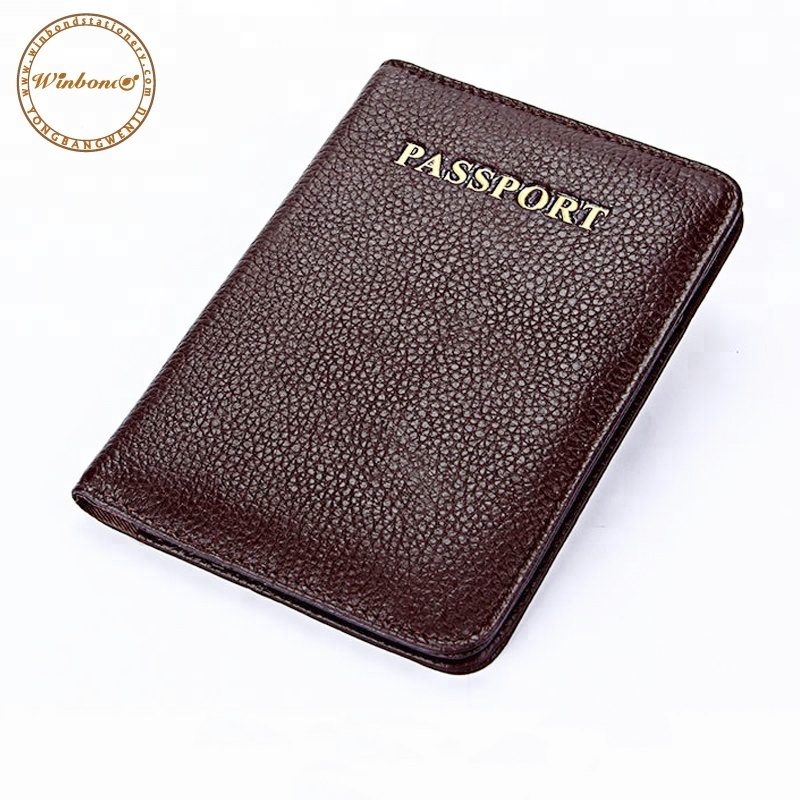 Peerless Women Pu Leather Travel Passport Holder Business Card Holder Passport Cover Id Credit Card Holder & Note Holder New Varieties Are Introduced One After Another Desk Accessories & Organizer