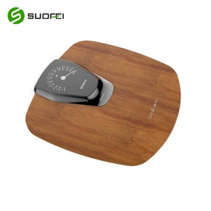 SF-122 OEM ODM LCD Smart Weight Wooden Bathroom Weighing Scale Digital Body Fat Electronic Scale