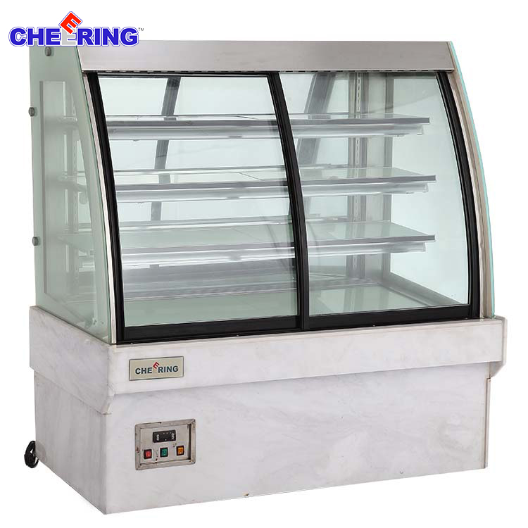 alibaba express china refrigerated cake display cases for Cake