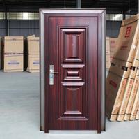 Steel security main door design ,steel security door wooden door in dhaka bangladesh