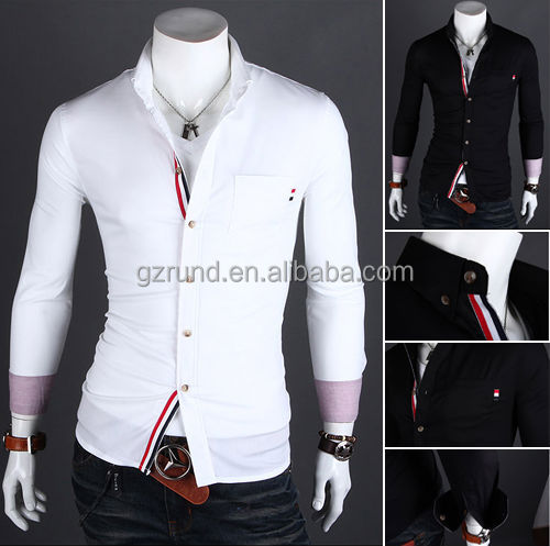 high quality wholesale mens white dress shirts,latest style men's ...