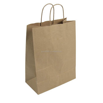 Eco-friendly marrone Missy Shopping Bag 100% Riciclato Naturale Kraft
