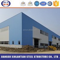 High quality steel structure hotel building galvanized C section steel, the steel structure for warehouse