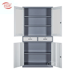 Industry commercial office furniture manufacturer steel four swing door with two drawer file cabinet specification