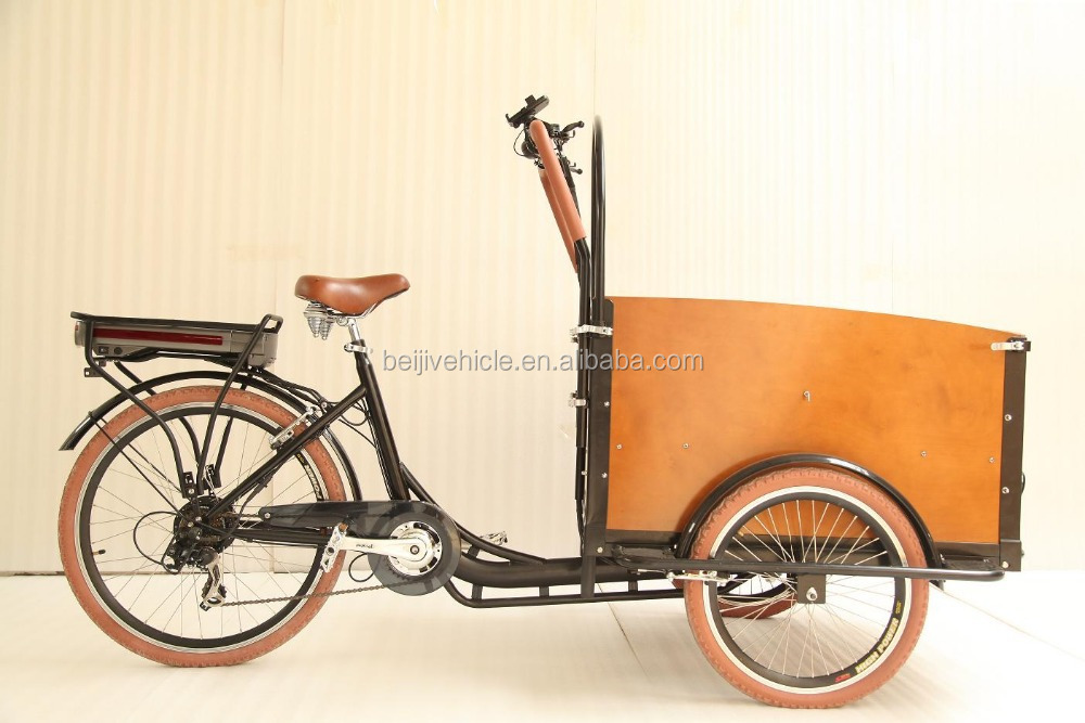 Ce Holland Bakfiets 3 Wheel Pedal Power Cargo Bike Tricycle Price