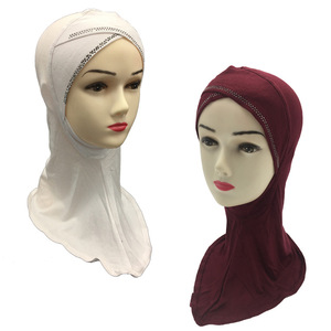 2018 Fashionable wholesale Hijabs Scarfs Popular Muslim Cap