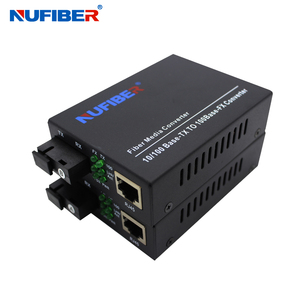 High quality media converter supplier 10/100M WDM fiber optic converter