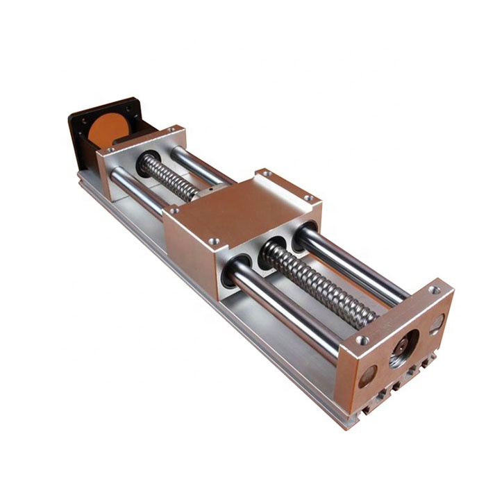 custom aluminum roller slide profile rail linear guide for home door or cnc machined