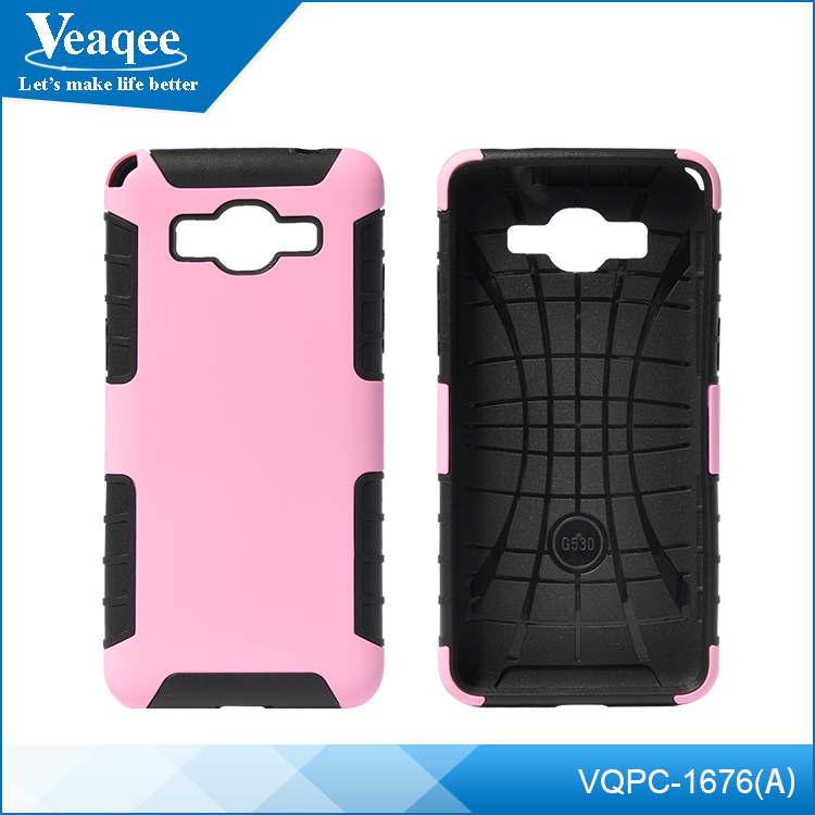 Veaqee 2 in 1 pc+tpu mobile cellphone case cover for smartphone