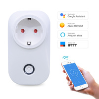 Europe Hot Selling Power Socket Plug Energy Monitoring with Google Assistant