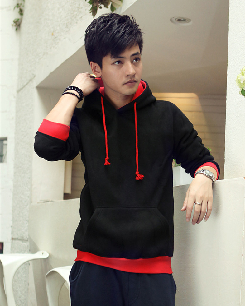 58814cbb5d2 Custom cool red black hoodies cheap plain hoodies for men and   women in  factory