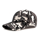 Outdoor Men Cotton blue Camouflage Cap unstructured Baseball Hat