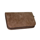 Trade Assurance scissor case for hair stylist high quality hairdressing cases leather
