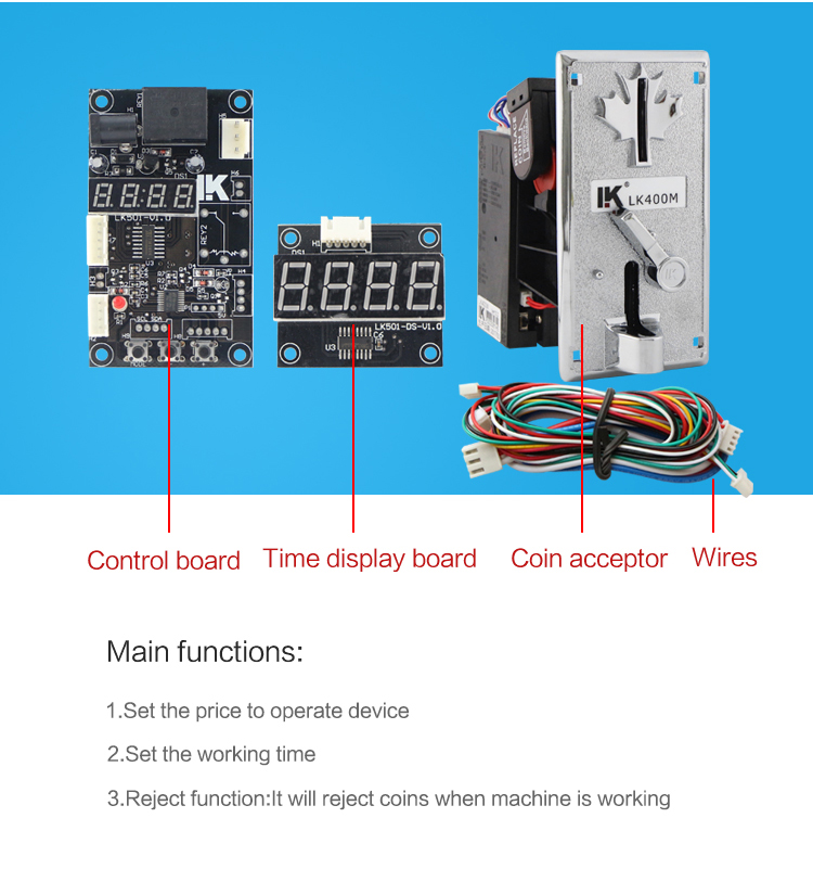 Lk501 Coin Time Control Board Used In Coin Operated Lg Twin Tub Washing  Machine - Buy Washing Machine Control Board,Electronic Control Board,Coin
