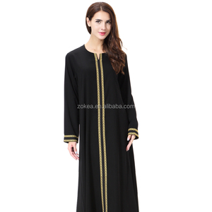 Stock coat abaya dubai designs in china