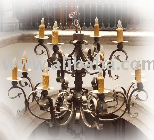 Hierro mexicano chandelier lighting
