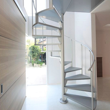 Steel Gl Stair Low Cost Price Design Used Metal Stainless Spiral Staircase