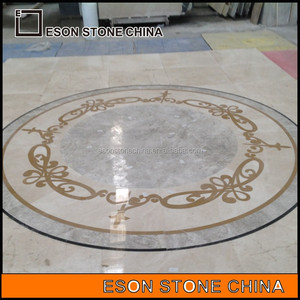 Eson Stone China water-jet marble pattern and flooring border designs