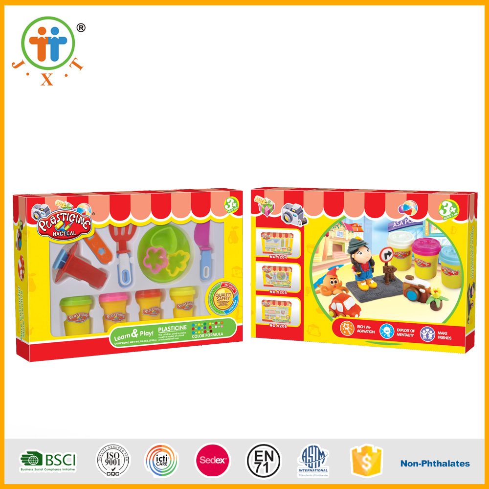 2017 Wholesale china kid educational toy modeling color art clay for sale