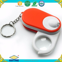 High Quality Optical Instruments Magnifying Glass key chain Magnifiers light box with magnifying glass