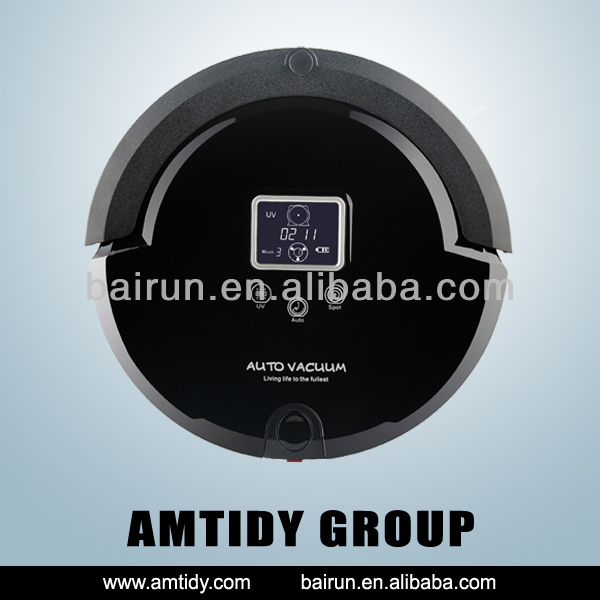 Auto Portable Battery Powered Vacuum Cleaner,Preset Working Time Rechargeable Robot Vacuum Manufacturer