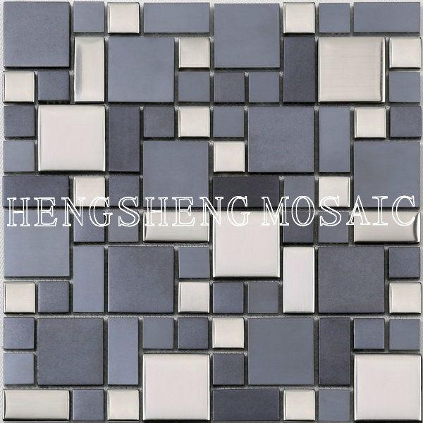 adesivos decorados com azulejo do banheiro do mosaico de vidro telhas de pedra hsdc