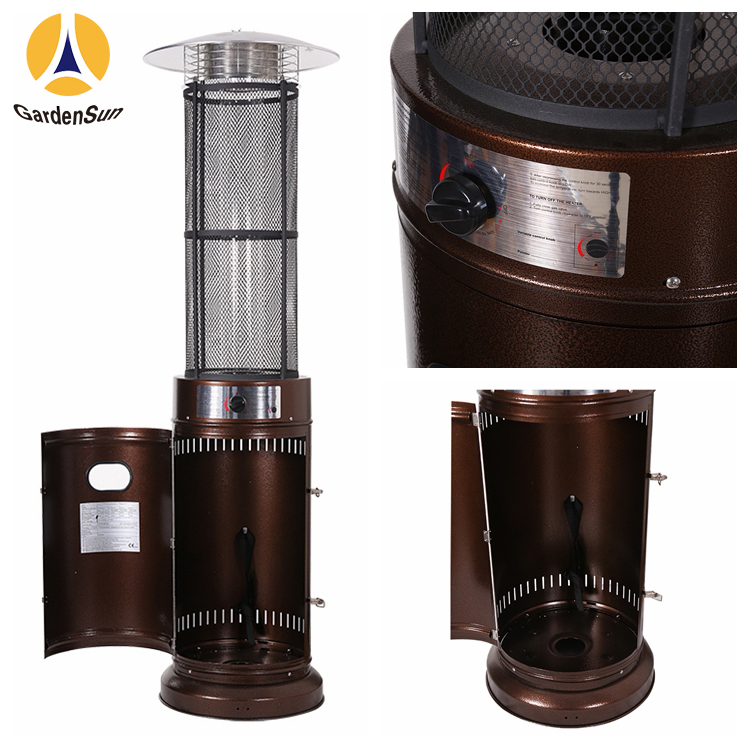 Great Elegance Stainless Steel Patio Heater With Power 15KW