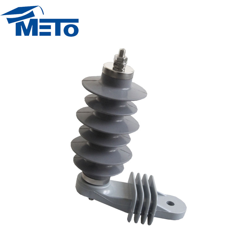China Newest Design Types 15KV 5KA Electrical equipment silicone rubber Power lightning arrester