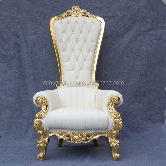 Wedding throne chairs for bride and groom YC-K02