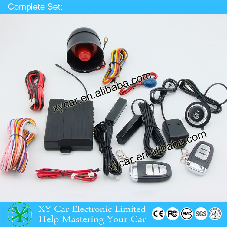 Manual keyless Entry With Push Start Button,Engine Control Toyota ...