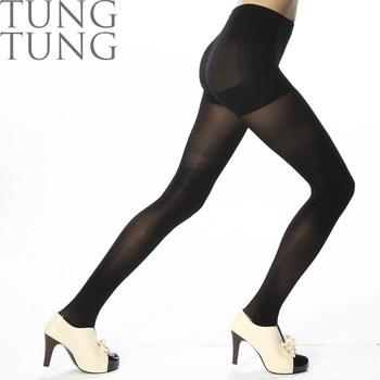 51a71239738 Taiwan Factory Bamboo Charcoal Yarn Black Opaque Tights - Buy ...