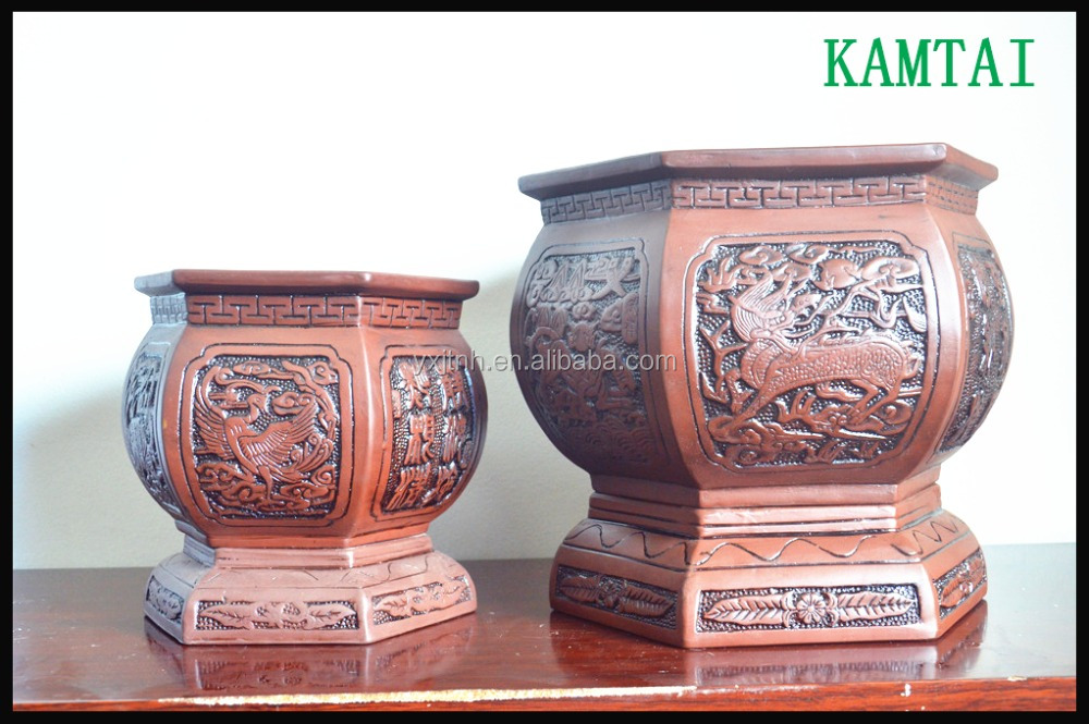 China Flower Vases Of Clay Wholesale Alibaba