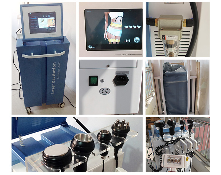 LS650 slimming /cavitation lipo laser radio frequency ultrasonic cavitation