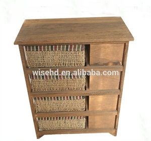 (W-CB-429) living room cabinet 8 drawer wooden chest of drawers