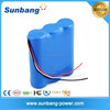 CE, Rohs, FCC, MSDS approved rechargeable li-ion battery 10.8v