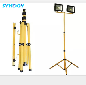 High Brightness Outdoor Rechargeable 50W Tripod 5000 Lumen Led Work Light