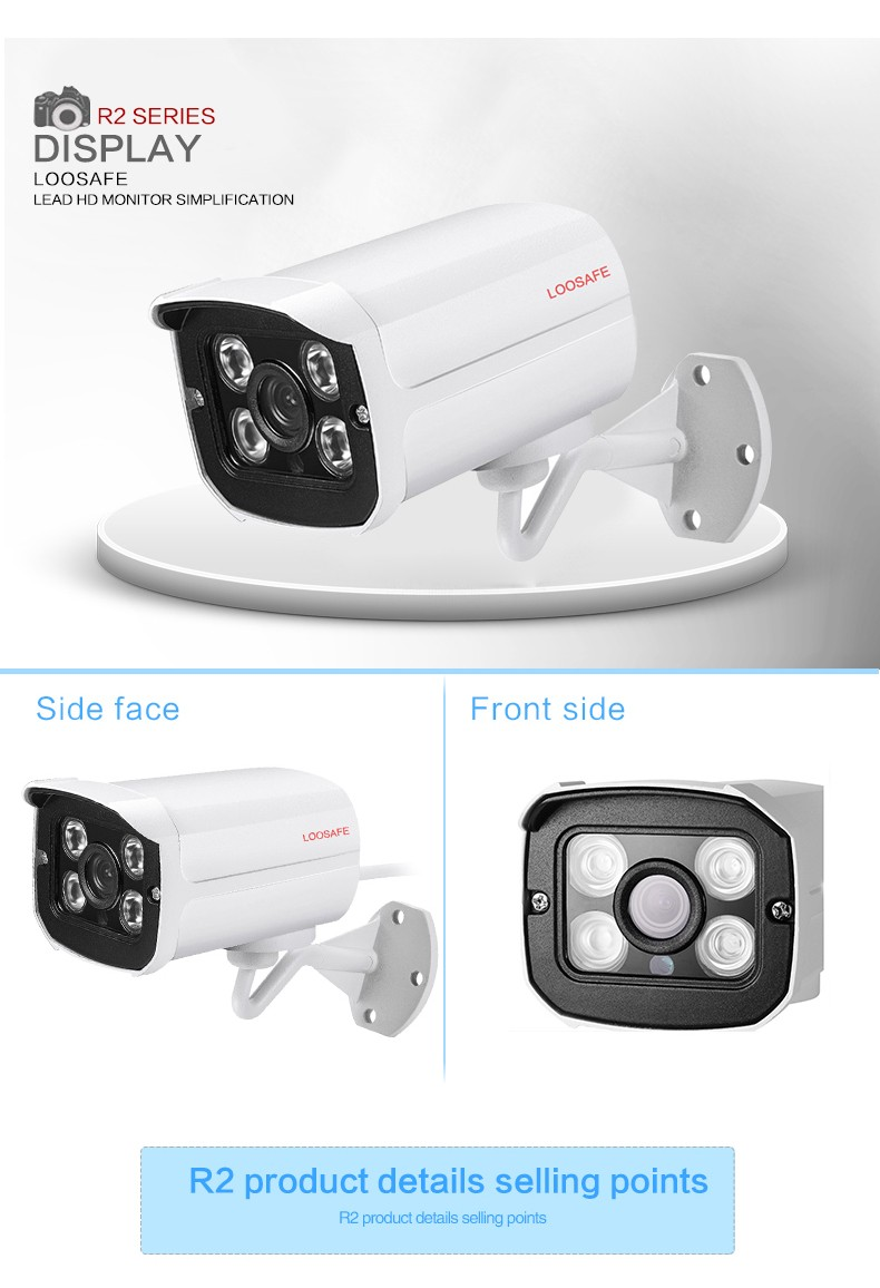 Groothandel H.265X 2 .. 0 MP PTZ IP Camera Systeem Opname 1080 p Outdoor Smart Alarmsysteem