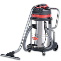 Guangzhou high quality CE Robot wet dry Vacuum Cleaner 60L industrial vacuum cleaner moter