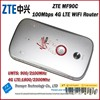 Brand New Original Unlock 100Mbps ZTE MF90C Portable 3G 4G Wireless Router With Sim Card slot