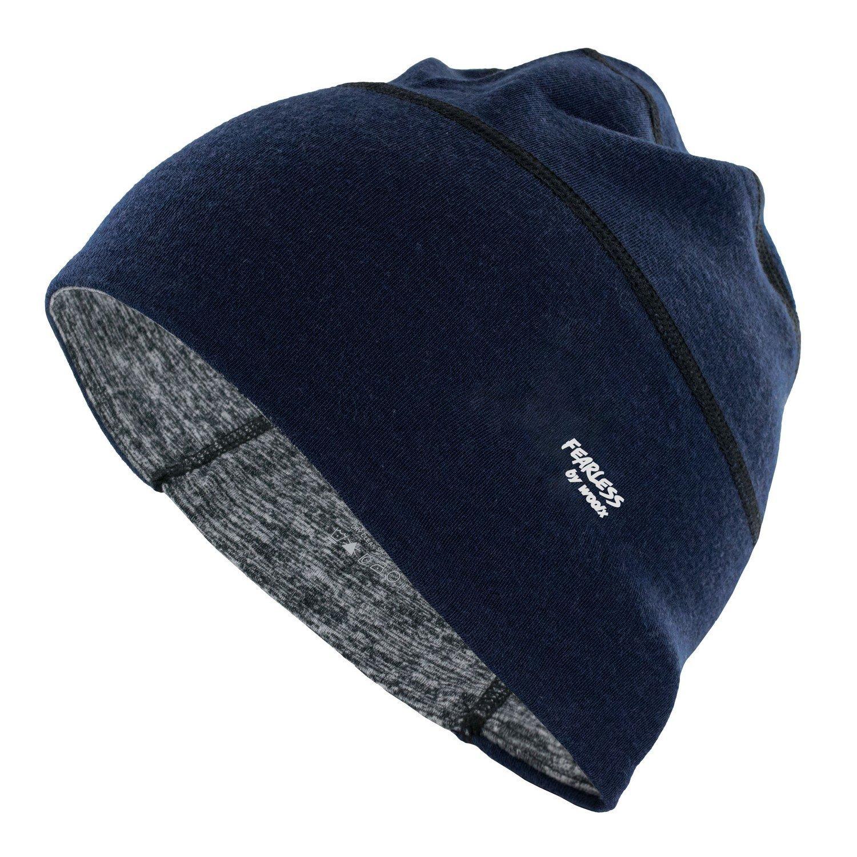 7ec9e98171d Get Quotations · WoolX Lexie - Merino Wool Skull Cap-Helmet Liner-Running  Beanie-Moisture Wicking