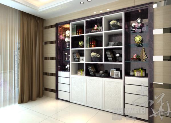 Woonkamer Met Boekenkast : Boekenkast in separatie moderne woonkamer door gosker ontwerp