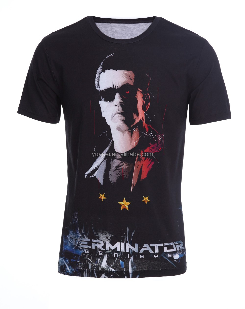 Breathable quick dry gym sports t shirt sublimation for Cheap quick t shirt printing