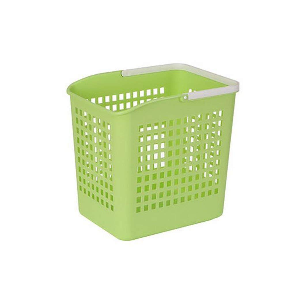 XWG Shelving Large Dirty Clothes Basket Plastic Laundry Basket Dirty Clothes Storage Basket  Storage Basket  Shopping Basket  Dirty Clothes Baskets Kitchen Storage Shelf (Color : 2#)